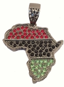 Colored Rhinestone Africa