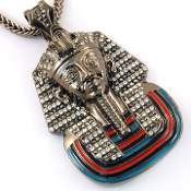 King Tut Pendant Necklace