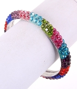 Multi Colored Rhinestone Bracelet