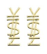 Gold Color Y$L Earrings