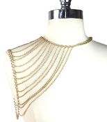 Single Shoulder Chain - Gold