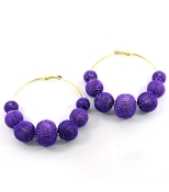 Hoops - Purple Mesh Balls