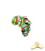 Multi Color Africa Flags Ring