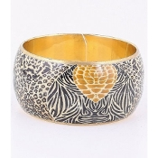 Animal Print Pattern Bangle